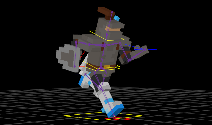 Gravity Knight Part 5: Rigging And Animation.